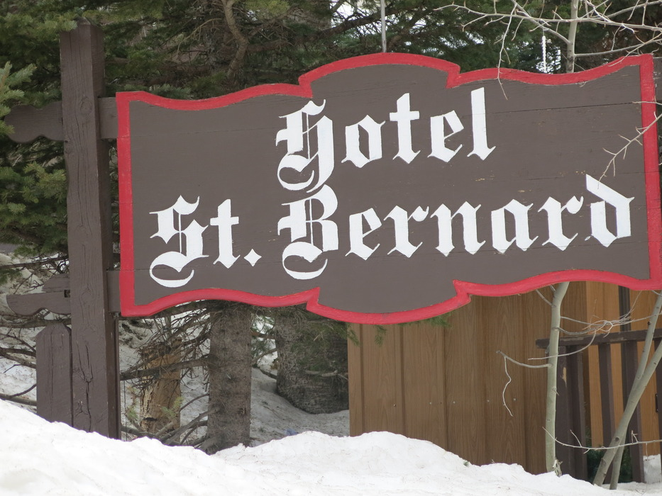 The St. Bernard at Taos Ski Valley is a once in a ski trip dining experience. - © Donny O'Neill