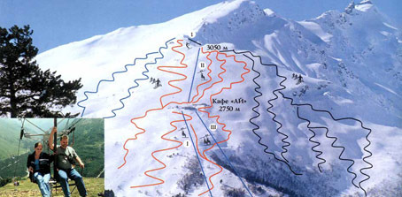 Ski Cheget Elbrus Russia