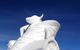 Ice sculpture created by Team Canada in Breckenridge, Colorado