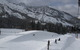 Terrain park as seen from the lifts at Brighton, Utah.