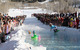 Pond skimming at Powderhorn.