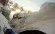 Snøskred i Canale Holzer, Dolomittene