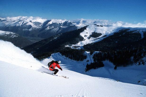 ski a Luchon Superbagnères