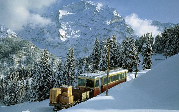 Wengen Railway, Switzerland  - © Wengen