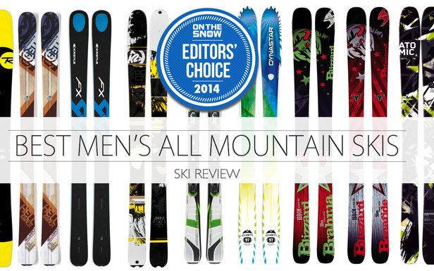 Top men s all mountain skis