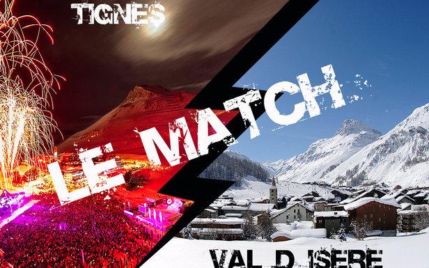 Le match Tignes / Val d'Isère- ©Andy Parant / JP Noisillier