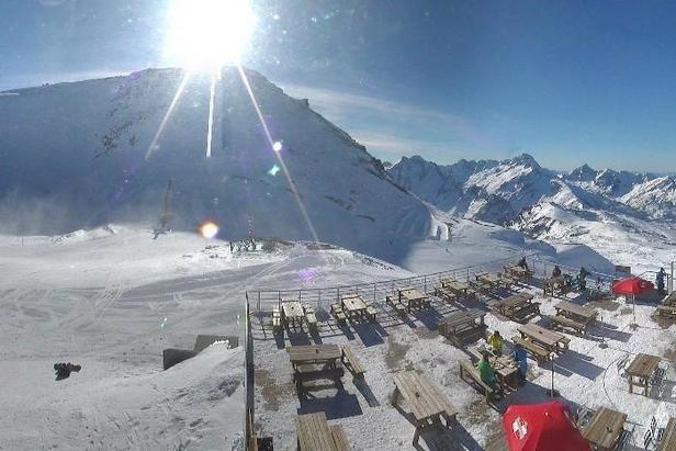 Les 2 Alpes op 4 december 2013
