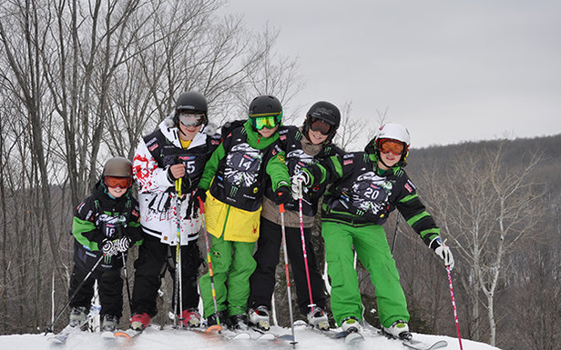 Marquette Mountain kids  - © Michigan Snowsports Industries Association