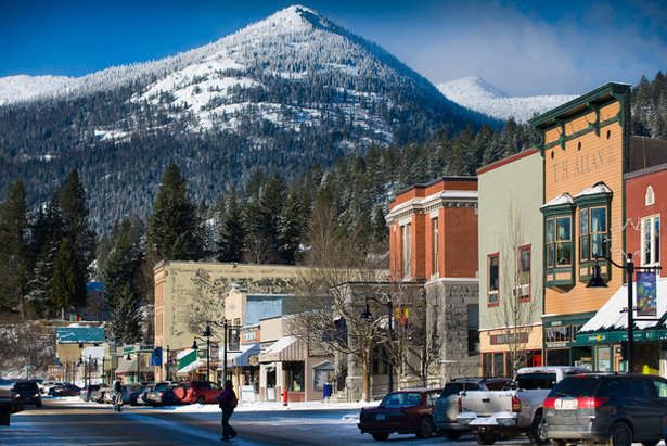In putting Red on the map, the owners are lucky to have a 100 plus year-old asset just below the ski mountain in the town of Rossland.   - © ©heath