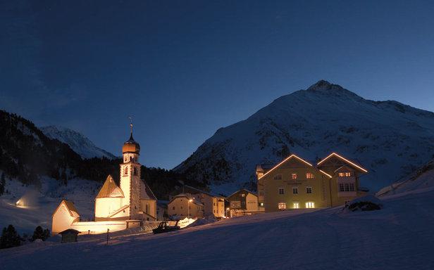 Vent - baśniowa górska wioska u stóp najwyższego szczytu Tyrolu Wildspitze