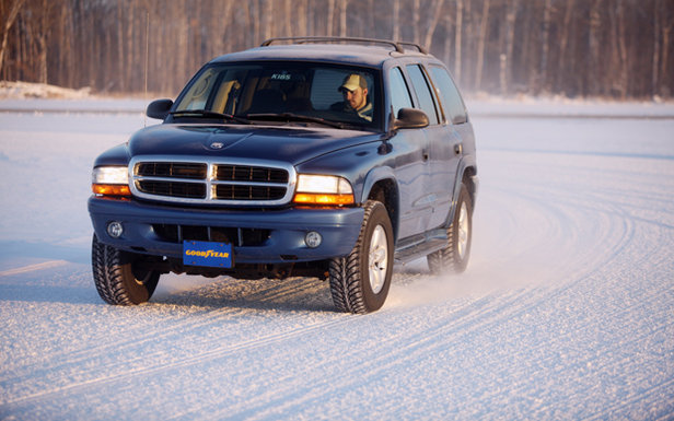 When it comes to winter driving, four new tires trumps two.