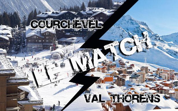 Match comparatif entre Courchevel et Val Thorens