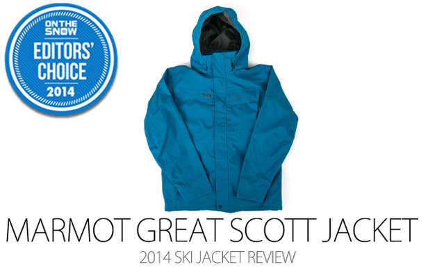 2014 Men's Ski Jacket Editors' Choice: Marmot Great Scott Jacket- ©Julia Vandenoever