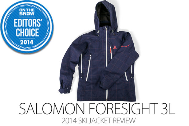2014 Women's Ski Jacket Editors' Choice: Salomon Foresight 3L Jacket- ©Julia Vandenoever