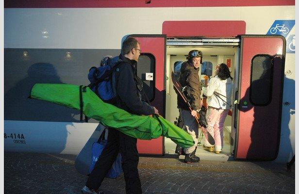 Andare a sciare in treno: 11 località facili da raggiungere
