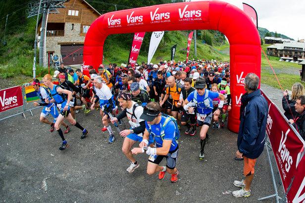 300 participants ont pris le départ du premier Vars Mountain Trail