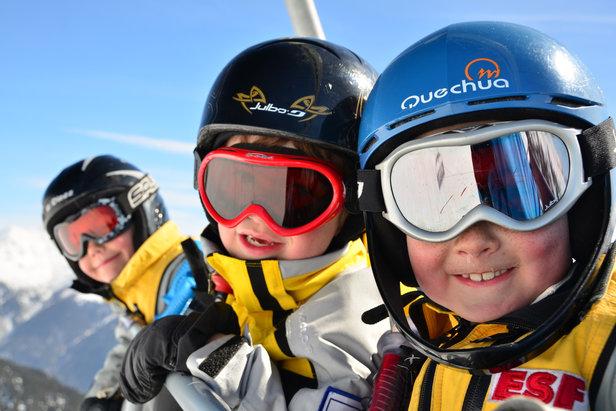 A Aussois, au printemps, les températures sont plus douces, les prix plus bas mais le plaisir du ski toujours bien présent...