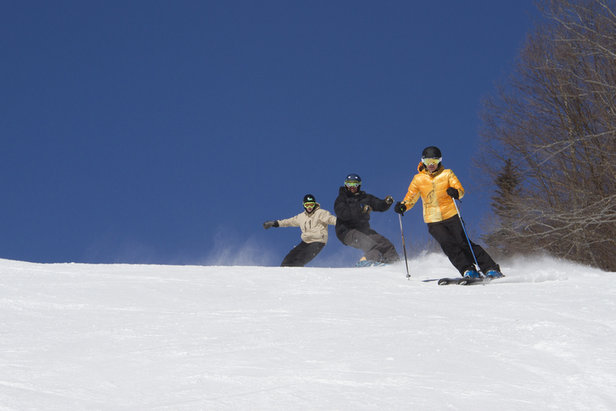 How to Ski Cheap, or Free, This Spring in the Northeast- ©Okemo Mountain Resort
