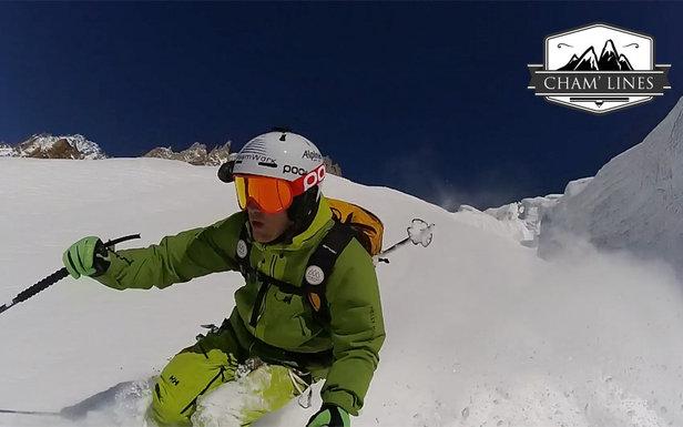CHAM'LINES #5 : Le couloir du Glacier du Chardonnet