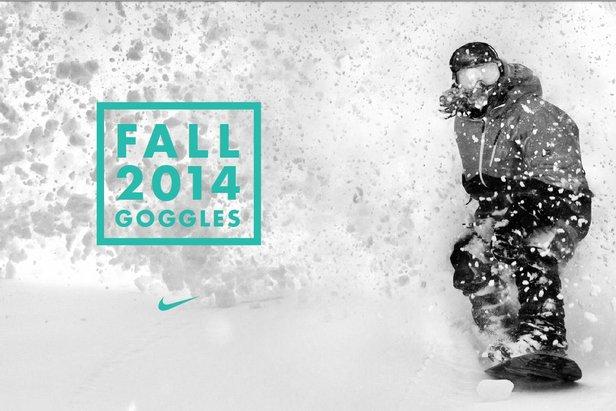 Nike dévoile sa collection de masques de ski pour la saison d'hiver 2014/2015