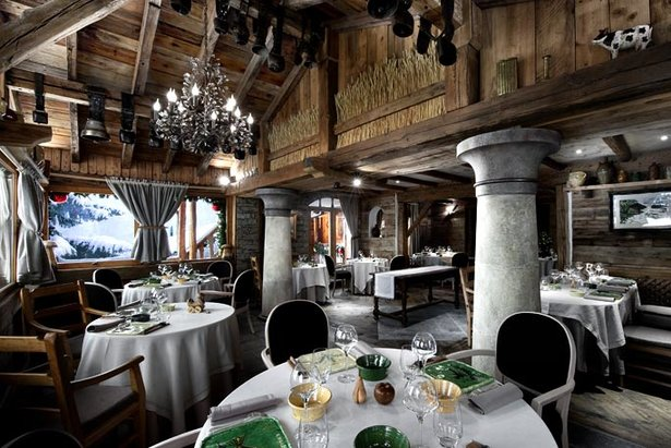Snow and stars: Michelin Star restaurants in the Alps ©La Bouitte