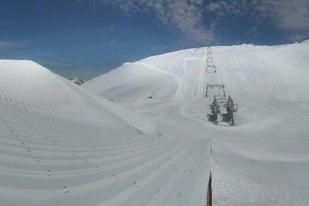 E' iniziata la stagione sciistica estiva in Francia!