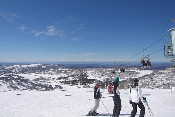Summer ski resort: Near the top of Mount Perisher, Australia.  - © Andrew Kisliakov