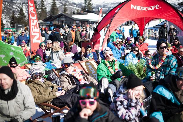 Publikumsvennlige eventer, konserter, konkurranser, ski og afterski - påsken i Hemsedal er alt annet enn kjedelig! Foto Kalle Hägglund