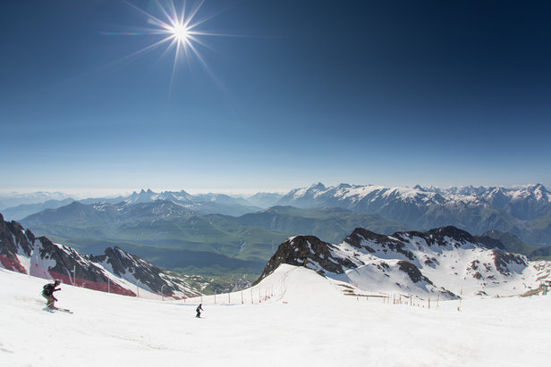 The longest ski runs in the Alps ©L.Salino / Alpe d'Huez Tourisme