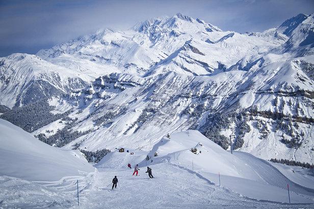 Ski hors-piste : Arêches Beaufort vs Sainte Foy Tarentaise ©Baptiste Bernaert / OT Arêches Beaufort