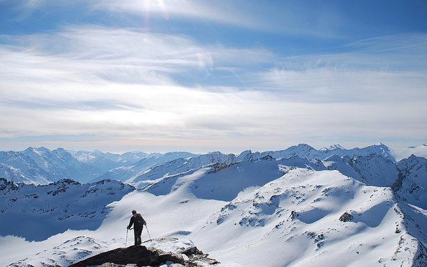 Aufstieg zum Fanellhorn