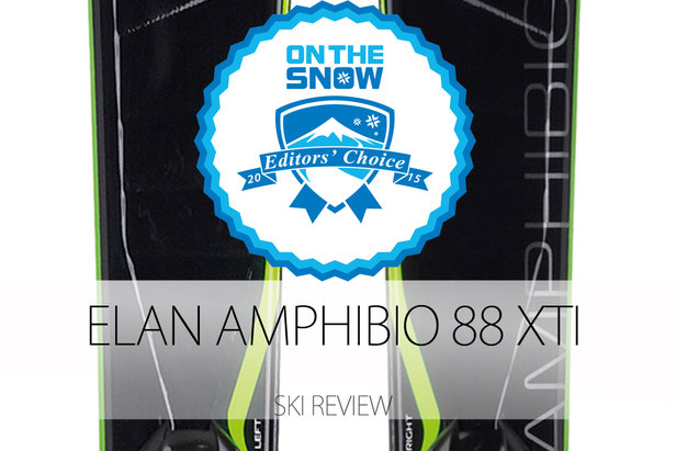 Elan Amphibio 88 XTI, a 2015 Editors' Choice Men's Frontside Ski