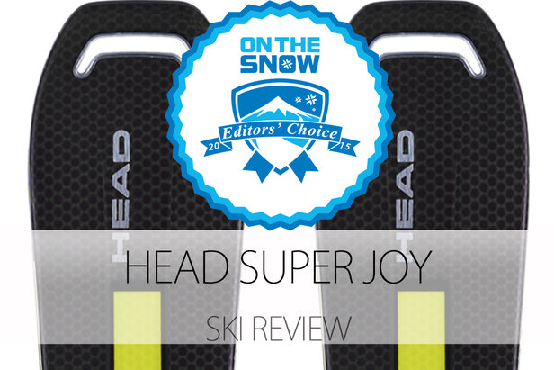 Head Super JOY, a 2015 Editors' Choice Women's Frontside Ski