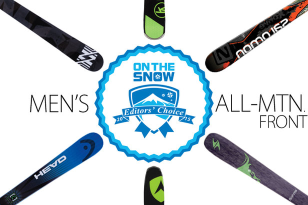 2015's Top 6 Men's All-Mountain Front Skis