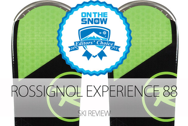 2015 Men's All-Mountain Front Editors' Choice Ski: Rossignol Experience 88- ©Rossignol