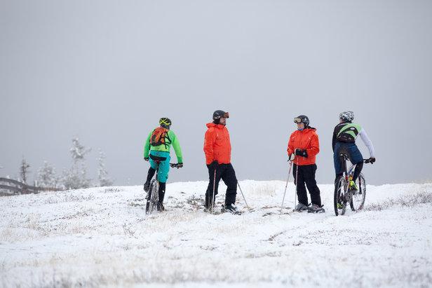 Sesongens første skitur- ©Roger Hjelmstadstuen