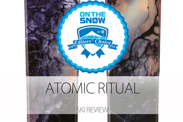 Atomic Ritual, a 2015 Editors' Choice Men's All-Mountain Back Ski.