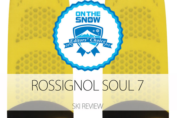2015 Men's All-Mountain Back Editors' Choice Ski: Rossignol Soul 7- ©Rossignol