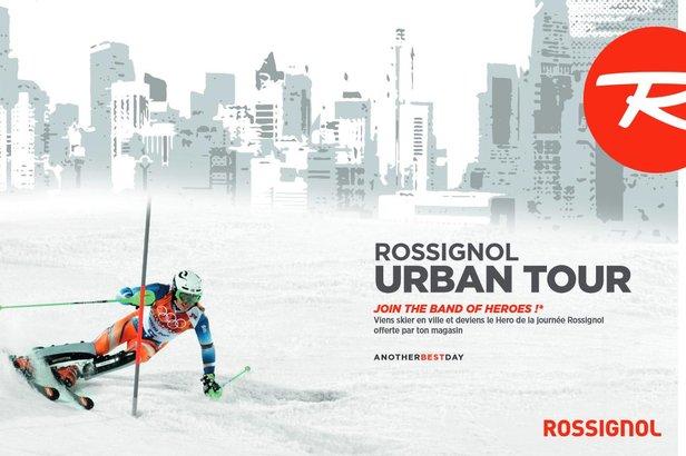 ROSSIGNOL URBAN TOUR : 10 villes et 15 journées d'animations dans un esprit familial et convivial de promotion du ski