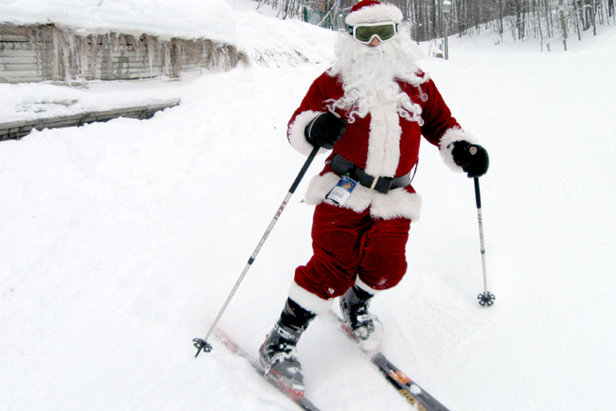 Ski Free With Santa on the Slopes of Schuss Mountain on Christmas Day!