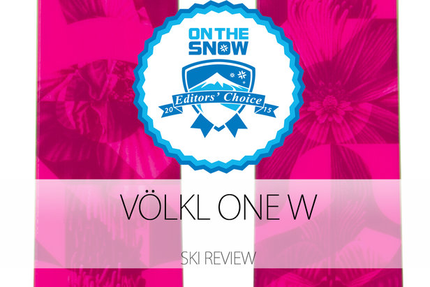 2015 Women's Powder Editors' Choice Ski: Völkl One W ©Völkl