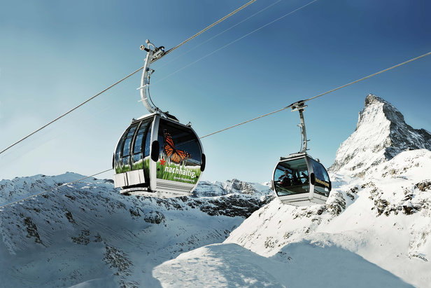 Gondola z Matterhornu - Zermatt  - © Zermatt Bergbahnen