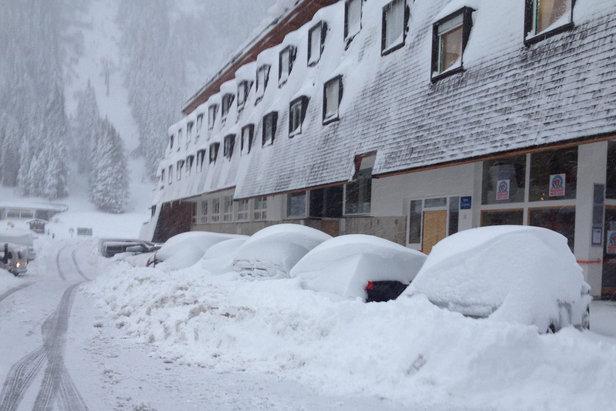 Der erste Neuschnee ist da: Bilder aus den Alpen vom 22. und 23. Oktober