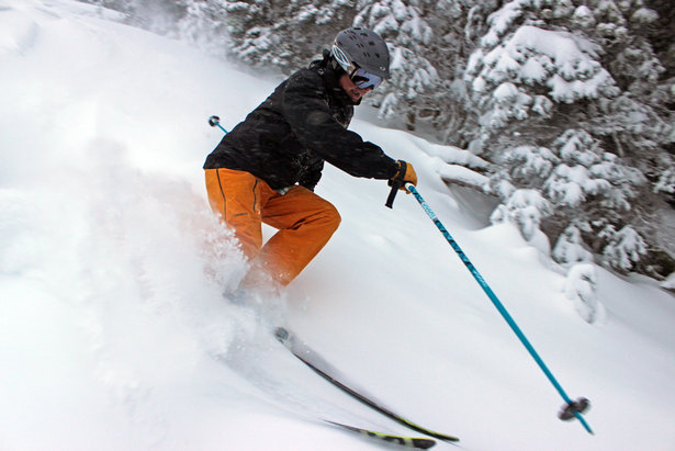 Brundage Mountain opened to powder skiing this past weekend.  - © Brundage Mountain