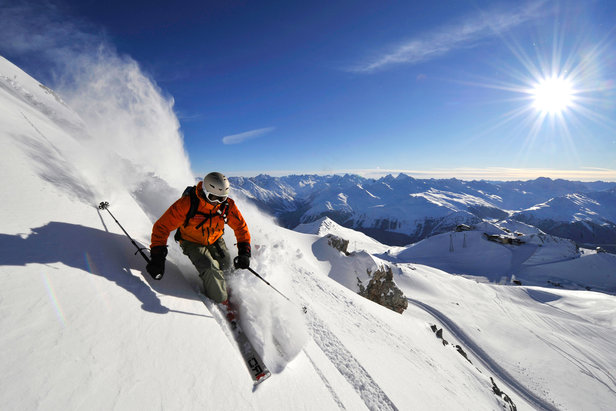 Best ski resorts for first-time freeriders- ©Destination Davos Klosters/Christian Perret