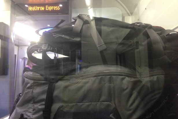 """On-the-Road Opinion: Osprey Ozone 22""""/46L Carry-On- ©Tim Shisler"""