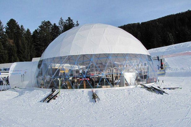 Biblioigloo di Andalo - Fai della Paganella, una biblioteca sulla neve!