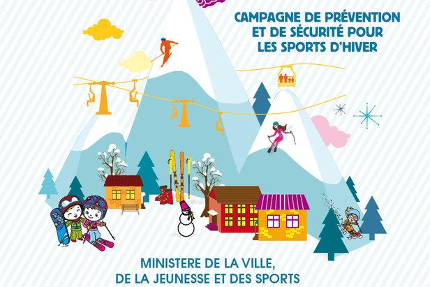 Campagne de prévention et de sécurité pour les sports d'hiver