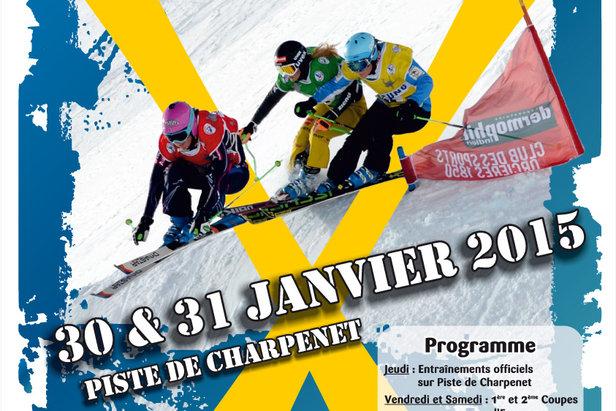 Coupe d'Europe de Ski Cross à Orcières Merlette 1850