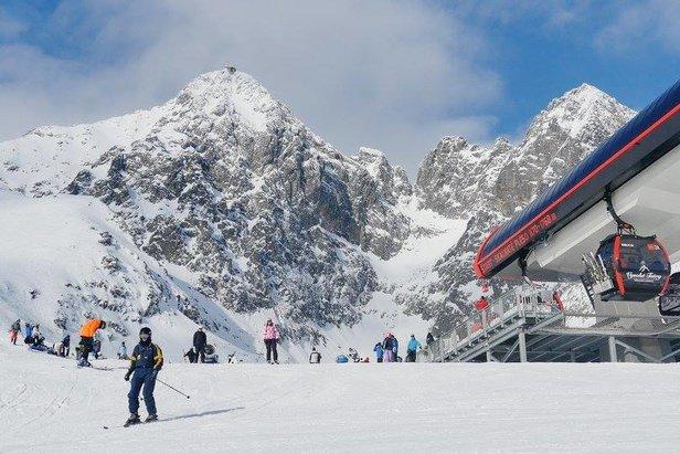 Infografika: Koľko snehu bolo vlani na slovenských horách
